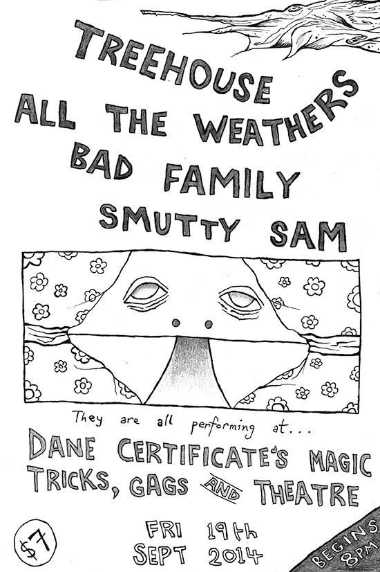 Treehouse Dane Certificates Magic Tricks Gags Theatre